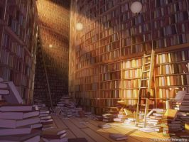 The Library of Babel by owen-c