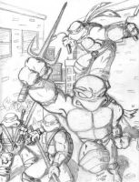 TMNT by snitman