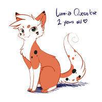 Lumia as a Cat by SilverGuest