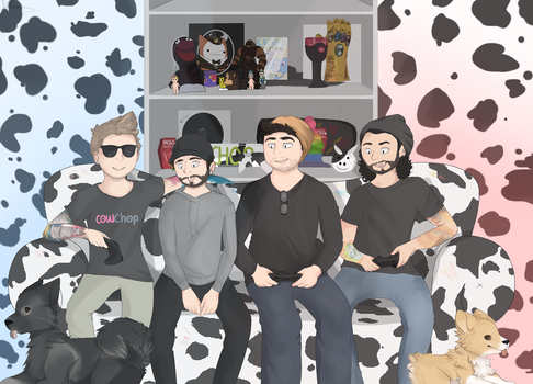Cow Chop by saeshells