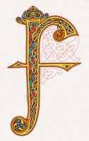 F Lindisfarne Style by twistedstrokes