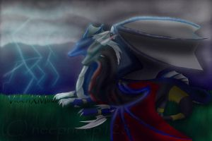 Comish for 4-elements-dragon by neepneep128