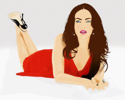 Megan Fox by mojaam