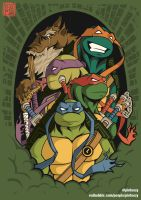 The Green Team by Pinteezy