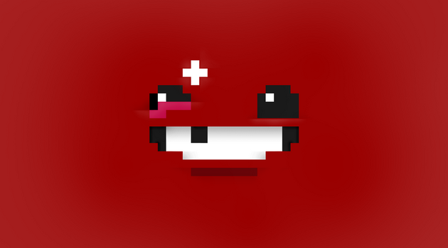 Super Meat Boy HD Wallpaper [2700x1500] by Jackson-Murphy
