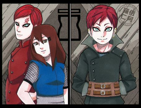 GaaSari Family_Color by xRavenniax