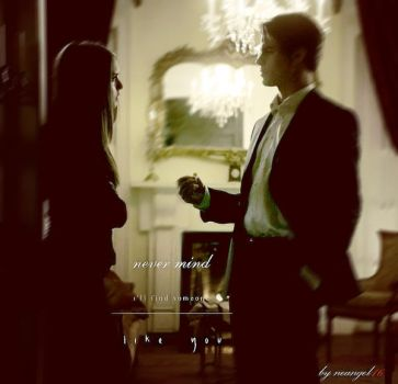 Elijah and Elena Never mind by neangel16