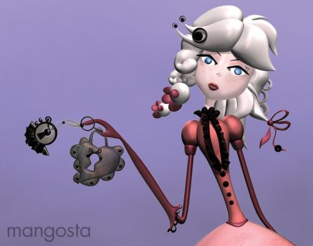 LADY ROSE by MangostaIllustration