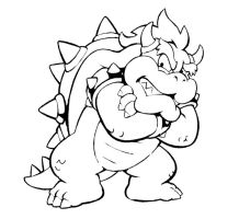 king bowser 2 by kng-bowser