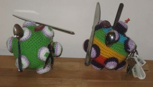 Katamari -Magnetic and Crochet by Craftigurumi