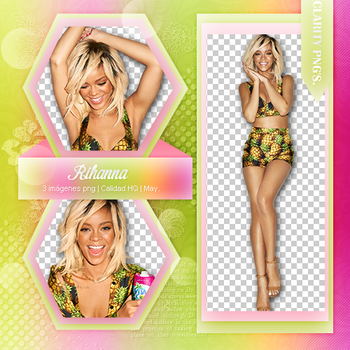 Rihanna Pack png by iWillNotSurrender