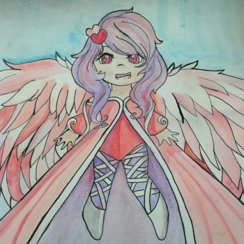 Chibi Cupid by InfinityRise1