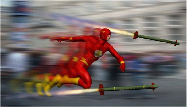 The Fastest Man Alive by arrowhead42