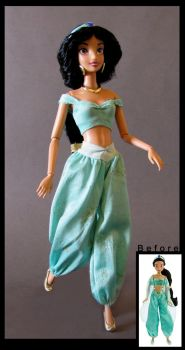 articulated jasmine doll by nightwing1975