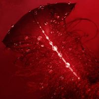 Sparkling in red by LadyCarnal