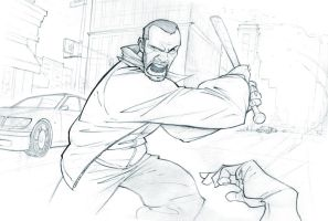 Don't mess with Niko Bellic by PatrickBrown