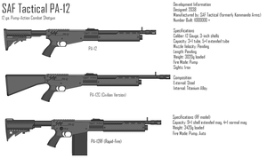 SAF Tactical PA-12 by GrimReaper64