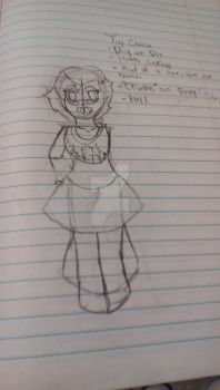 Human toy chica by EmeraldGal66