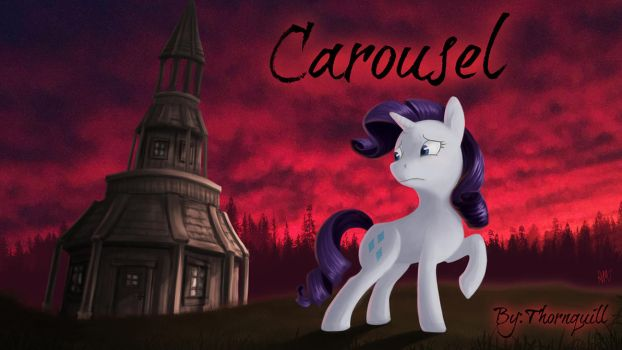 Commission - Carousel fic cover by Amiki-Doodles