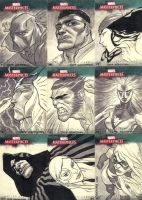 Marvel Masterpieces III Set 5 by jeffwamester