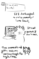 Replying to comments by Spottedfire-cat