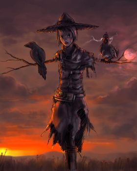 Scarecrow by minties