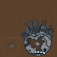 Bad planet T-shirt design by Si2
