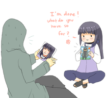 Shino x Hinata - Between us by birdbox on DeviantArt