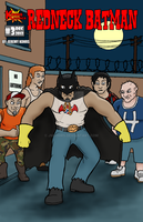 Redneck Batman Issue#3 Cover by JMKohrs