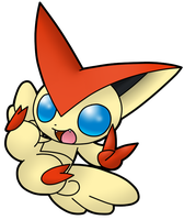 Victini by Xstrawberry-queenX