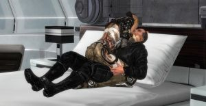 Mass Effect: Kisses Full of Passion Too by Aceaviator