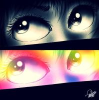 iPad Eyes by PhinabellaPhan