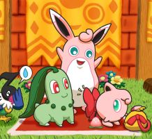 Master Wigglytuff's Red Bow