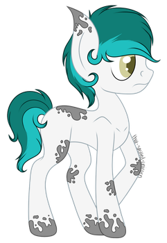 New OC: Unnamed by spottie-dots