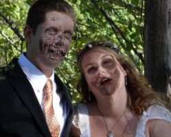 Until Zombies Do Us Part by bialicki
