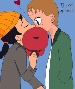 TJ and Spinelli by GothicRoseArtist16