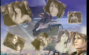 Squall and Rinoa Remember by Aku--chan