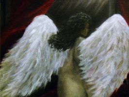 On Angel's Wings by nathanielwilliam