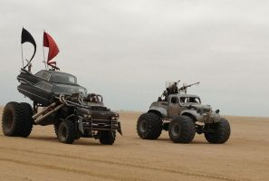 Mad Max 4 Fury Road 1959 Cadillac Gigahorse 3 by MALTIAN
