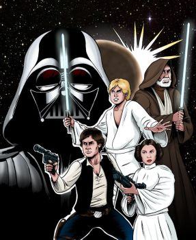 Star Wars by MikeMcelwee