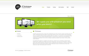 IT Tech Computer Solutions by slowduck