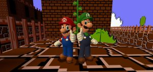 The Mario Bros by JackAxeWell