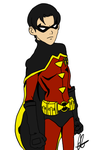 Jason Todd: Young Justice Style by JessSpeedster