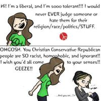 Tolerant Liberals by Dont--Tread--On--Me