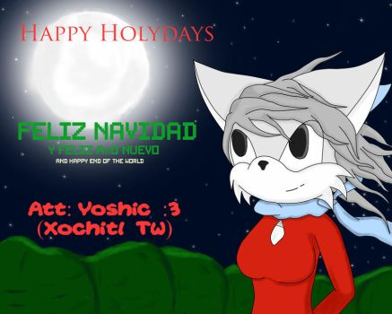 Happy end of the world ... holydays :B by Yoshic
