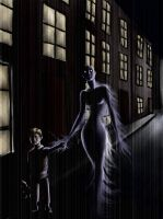 Boy And The Ghost by whutnot