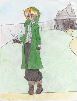 Link got TALL colored by Mahrahia