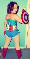 Pin up Captain America: Complete by aqueenwithnocrown