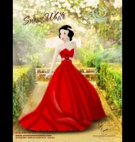 Snow White in Alfred Angelo Dress by AN-ChristianComics