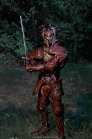 Leather Flame Armor Pic 2 by Azmal